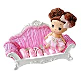 Aisa Little Princess Mini Sofa Ring Holder Jewelry Stand for Wedding Christmas Birthday Gift
