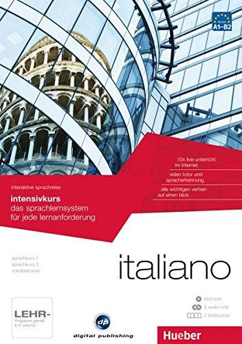 interaktive sprachreise intensivkurs italiano: das sprachlernsystem für jede lernanforderung / Paket: 1 DVD-ROM + 2 Audio-CDs + 2 Textbücher