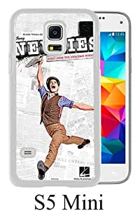 Lovely And Unique Designed Case For Samsung Galaxy S5 Mini With newsies broadway White Phone Case