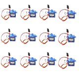 DIGOU® 12PCS x SG90 Micro 9g Servo For RC Airplane Car Boat Genuine