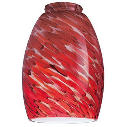 WESTINGHOUSE LIGHTING CORP 8141300 Handblown Pendant Lamp Shade, 2-1/4
