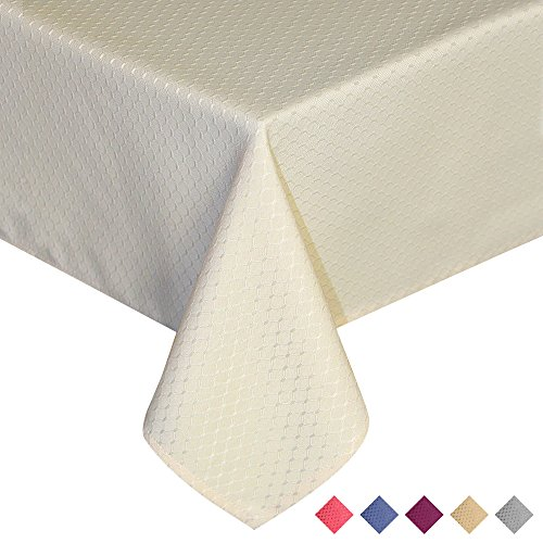 ColorBird Jacquard Tablecloth Waterproof Rectangle product image