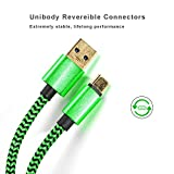USB Type C cable 3ft Gold Plated Quick Charge 3.0 Power and Data Transfer Braided Cord for Samsung Galaxy Note 8,Galaxy S8 S8 Plus,LG G5 G6 V20, HTC 10,Nintendo Switch,Nokia 8