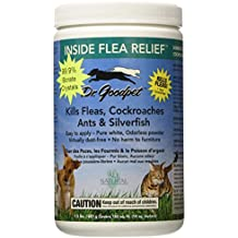 Dr. Goodpet Inside Flea Relief All Natural 99.9% Borate Crystals Kills Fleas, Cockroaches, Ants, Silverfish, Ticks, Termites, Spiders and Bed Bugs