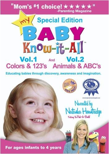 (My Baby Know-it-All: Colors & 123's and Animals & ABC's)