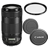 Canon EF 70-300mm f/4-5.6 IS II USM Telephoto Zoom Lens for Canon SLR Cameras W/UV(Ultra Violet) FIlter (Certified Refurbished)