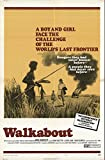 "Walkabout 1971 Authentic 27"" x 41"" Original Movie Poster John Meillon Drama U.S. One Sheet Style B"
