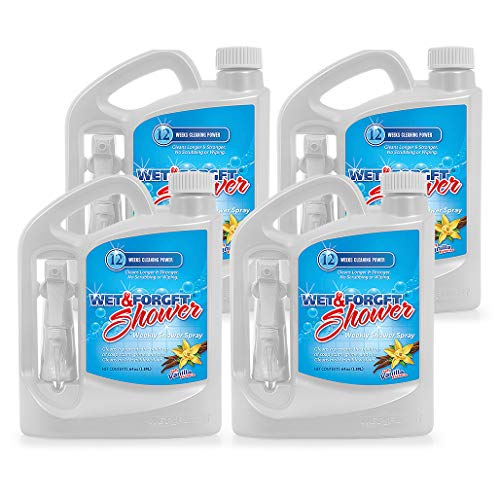 (Wet & Forget Weekly Shower Cleaner Spray 64 oz - 4 Pack)
