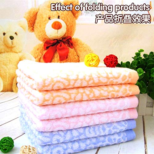 TT&QQ Bamboo Fiber Towel Beauty Soft Comfortable Water Absorbent Cloth Green Bamboo Fiber Fabric is Durable Oil absorben Child Towels by TT&QQ (Image #2)