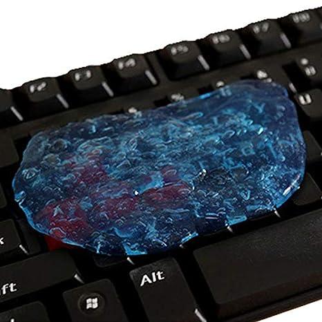 SODIAL (R) Magic Gel de limpieza masilla coche consola teclado ordenador portátil Super Limpiador polvo: Amazon.es: Electrónica