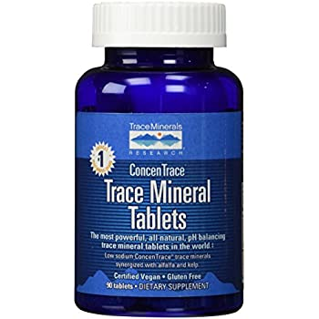 Trace Minerals Research - Trace Mineral Tablets - 90 Tabs