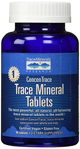 Trace Minerals Research Mineral Tablets product image
