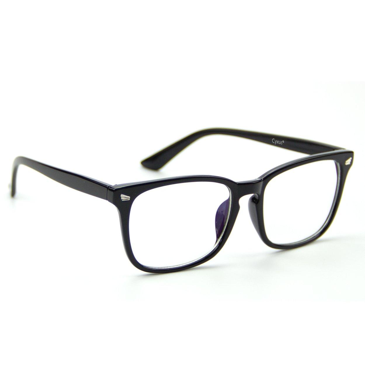 774213c5e0a Amazon.com  Cyxus Clear Lens Plain Glasses