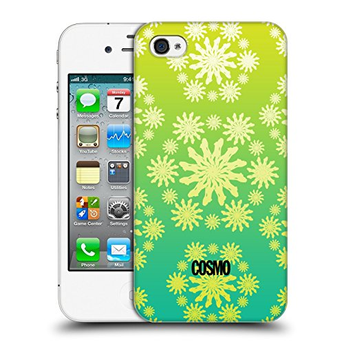 Official Cosmopolitan Ombre 1 Floral Patterns Hard Back Case for Apple iPhone 4 / 4S