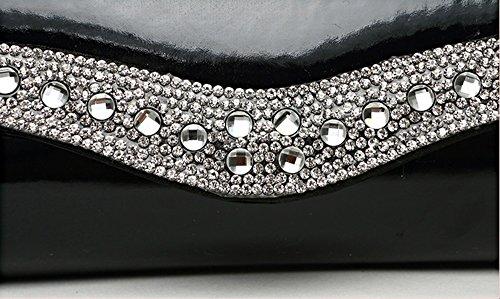 sacs en de main bandoulière diamant Couleur sac main paquet main à Sac Rouge à à dîner de Rouge paquet à mode de personnalisé marée sac paquets xwZ8w1vHq