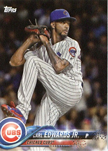 2018 Topps Factory Team Sets Chicago Cubs #CC-17 Carl Edwards Jr. Chicago Cubs Baseball Card