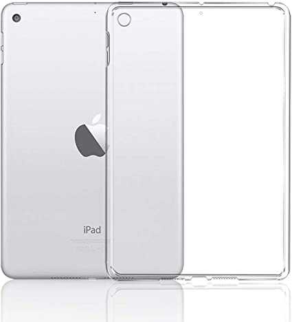 2019 Ultra Thin Crystal Clear TPU Silicone Gel Case Cover For Apple iPad Mini