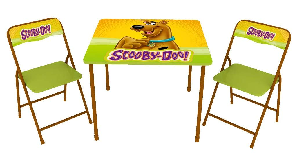 O'Kids 142008 Scooby-Doo Children's Metal Table & Chair 3 Piece Set by O'KIDS,INC.