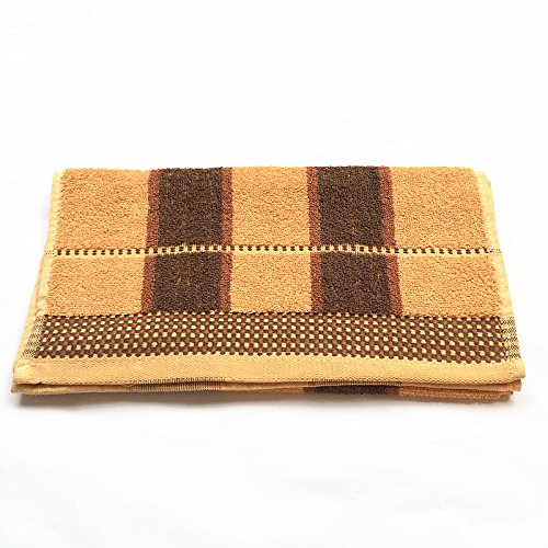 Retail And Wholesale High Quality Cotton Yellow And Brown St