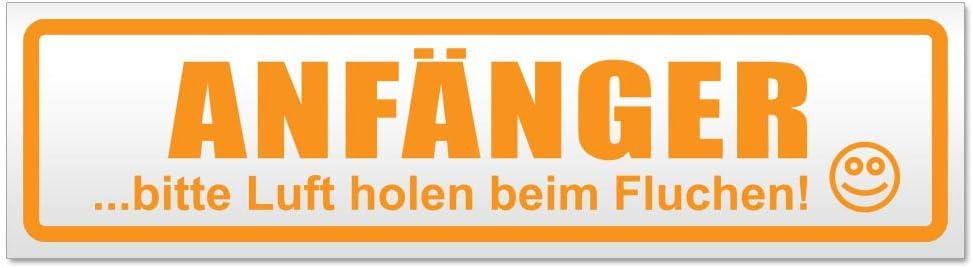 Kiwistar Anfänger Bitte Luft Magnetschild Schild Magnetisch Auto