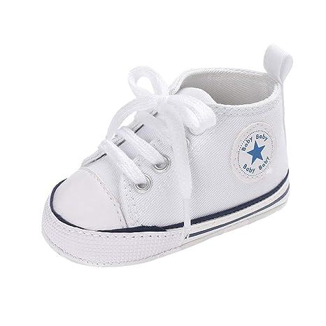 Niños Niñas Zapatillas de Tela Unisex, Moda Casuales al Aire Libre Zapatos Planas con Suela