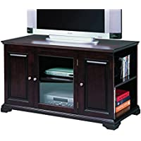 Crown Mark Harris RTA Entertainment Console with Storage, 48-Inch, Espresso