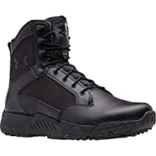 Under Armour Men's Stellar Military and Tactical Boot, Black (001)/Black, 12