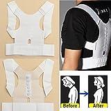 Bazaar Magnet Therapy Posture Shoulder Corrector Back Support Brace Belt Choice of S/M/L/XL