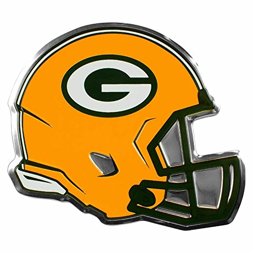 NFL Licensed Green Bay Packers Helmet Emblem Aluminum 4