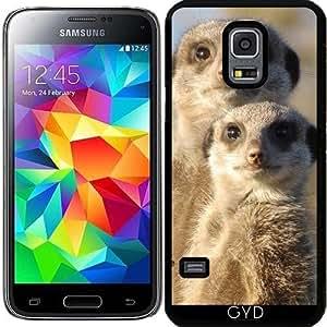 Funda para Samsung Galaxy S5 Mini - Suricatas Lindo 1214 by More colors in life