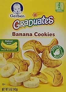 Gerber Graduates Cookies - Banana - 5 oz