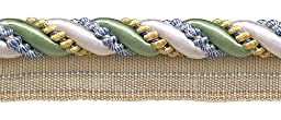 9 Yard Value Pack Large Green, Gold, Blue 7/16\