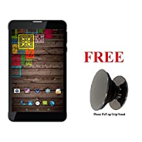 IKALL N5 4G Calling Tablet(2GB, 16GB) with Freebie Phone PoP-up Grip/Stand -7-inch(Black)