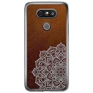Loud Universe LG G5 Madala N Marble A Madala 3 Printed Transparent Edge Case - Brown