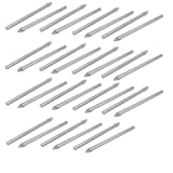 Uxcell a16121700ux0274 Round Shank Triangle Head Tile Drill Bits (Pack of 30)