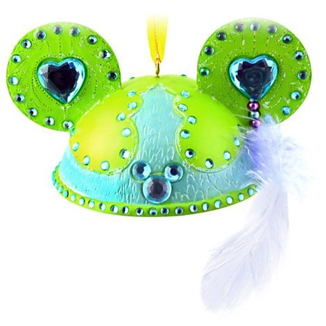 Disney Mickey Mouse Ear Hat Ornament Sparkle & Shine