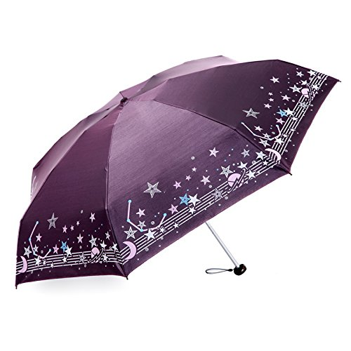 C Olici Small Pocket Umbrella Umbrella Half Off Sunny Umbrella Uv Predection Mini Sun Predection Ultra Light Umbrella