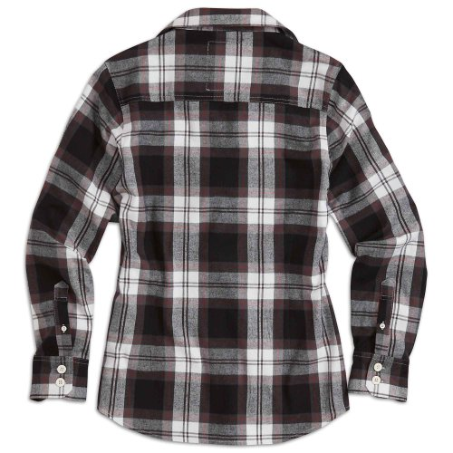 "Surplus Raw Vintage Holzfäller Hemd ""Ladies Lumberjack Shirt"", Größe: S, Farbe: Schwarz"