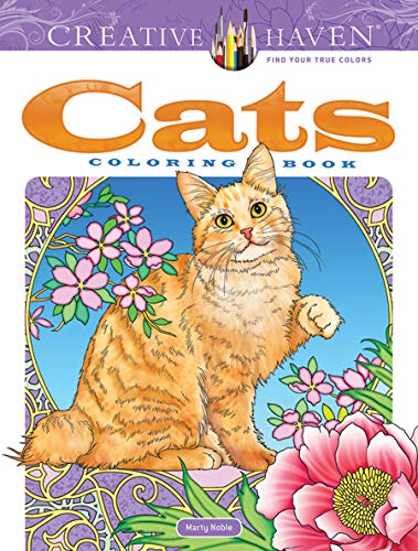 Creative Haven Cats Coloring Book (Creative Haven Coloring Books)