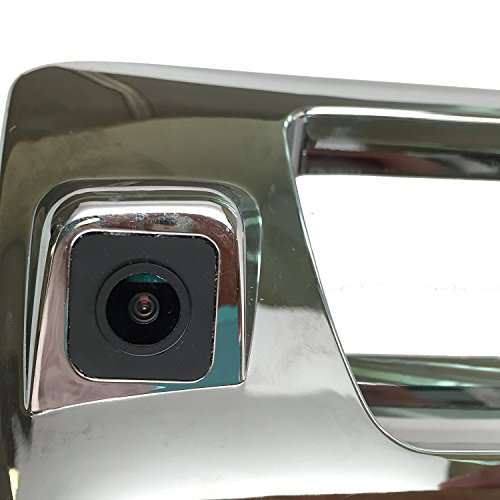 PYvideo Backup Camera for (2007-2013) Chevy Silverado / GMC Sierra for Universal Monitors (RCA) (Color: Chrome) by PYvideo (Image #1)'