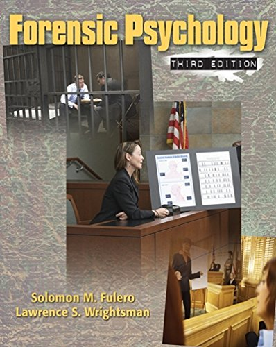 Forensic Psychology by Wadsworth Publishing