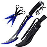 """Best Weapons - Tactical Master 27"""" Machetes With 3 Throwing Knives Review"""