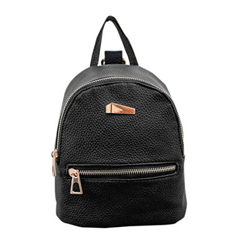 sac Casual Tote sac dos HENPI femmes dos Zipper Nouveau Striae Sac d'école à à voyage dos de de de Noir à qgU5wH