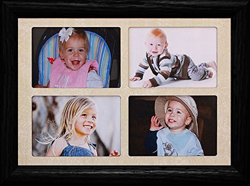2x3 Wallet Window Picture Frame ~ Holds 4-Landscape 2