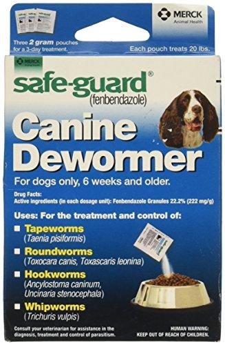 Merck Animal Health Safe Guard Canine Dewormer