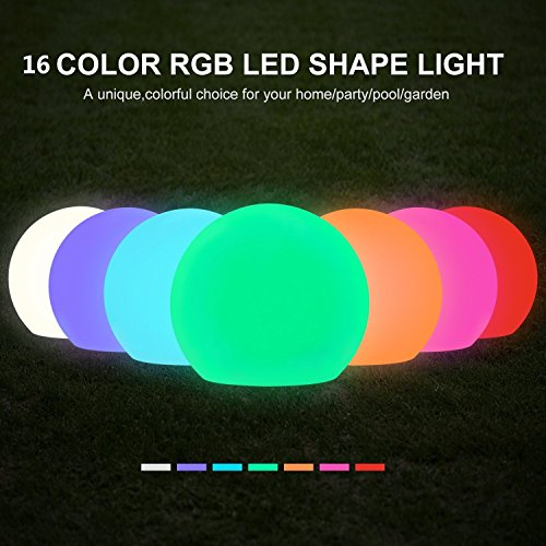 Solar Floating Swimming Pool Light Color Changing Led - 1