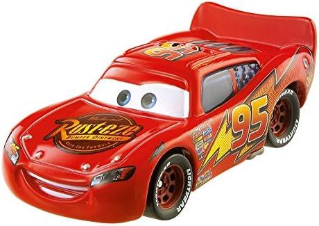 Mattel Lightning Mcqueen Dinoco 400 Automóvil, Multicolor