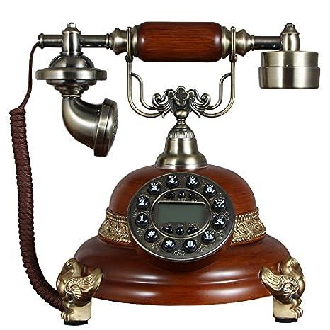 Teléfonos antiguos de elegante teléfono antiguo vintage ...