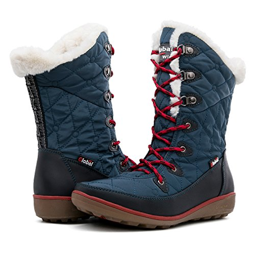 Globalwin Womens 1731 Winter Snowboots 37blue
