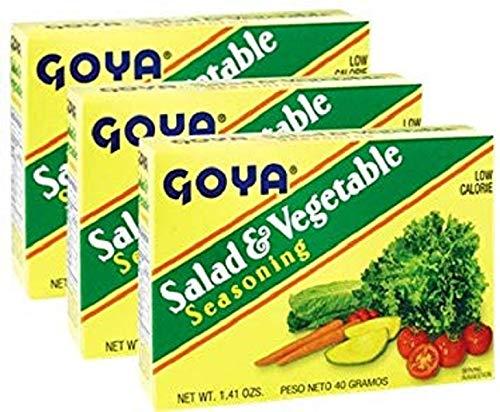 (Goya Salad & Vegetable Seasoning 1.41 oz Pack of 3)